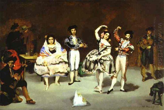 the spanish ballet 1862