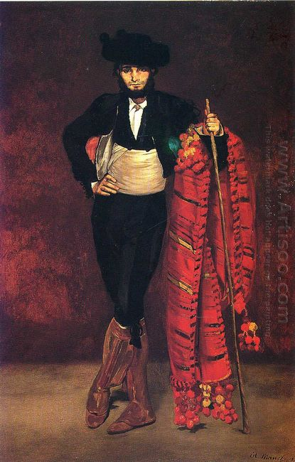 young man in the costume of a majo 1863