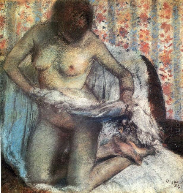 after the bath 1884