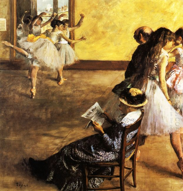 ballet class the dance hall 1880