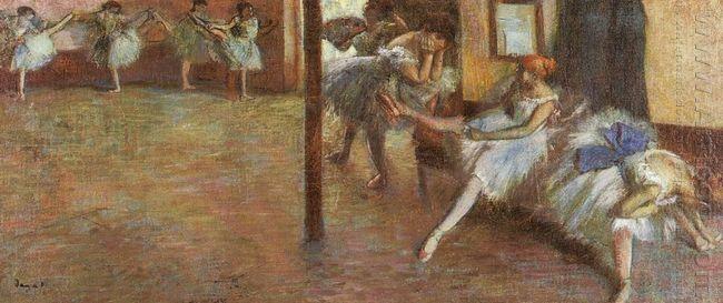 ballet rehearsal 1891