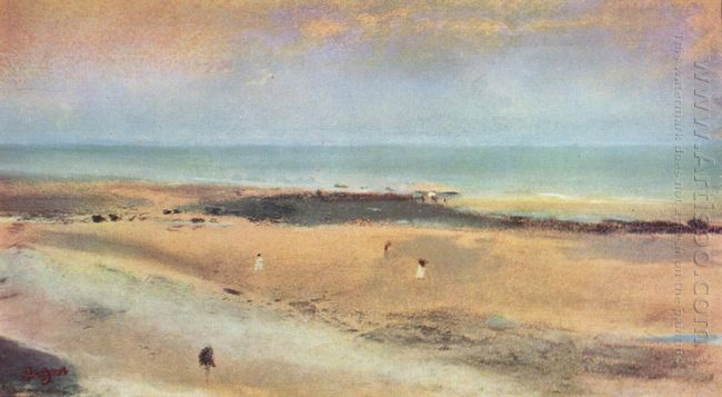 beach at ebbe 1870