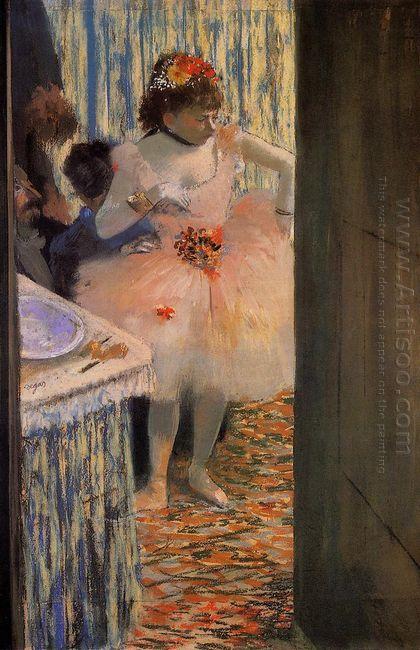 dancer in her dressing room 1
