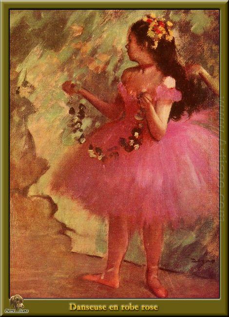 dancer in pink dress 1880