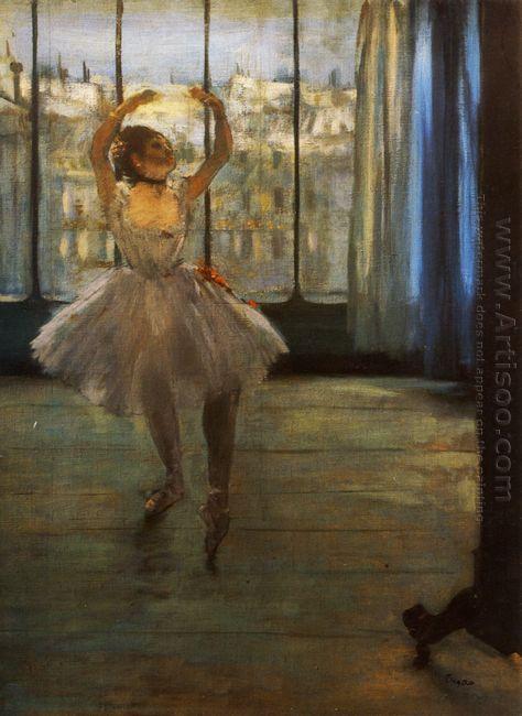 dancer posing 1878