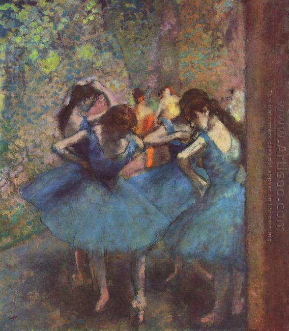 dancers in blue 1895