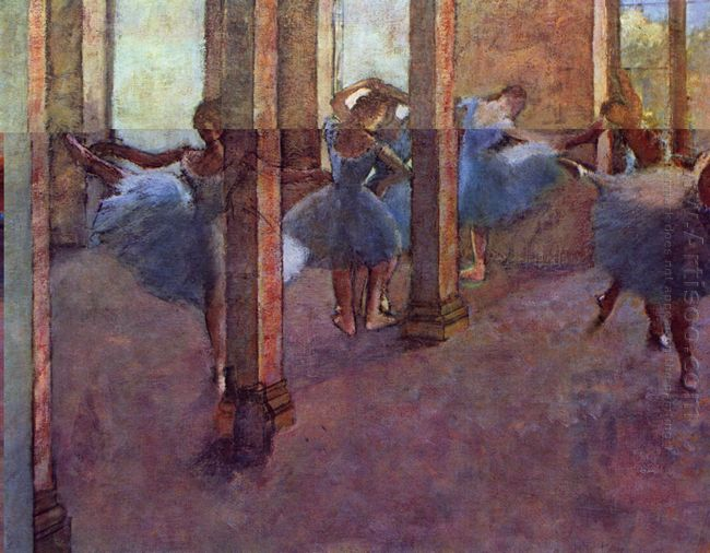 dancers in foyer 1890