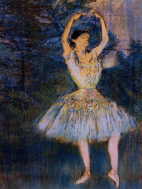 dancer with raised arms 1891