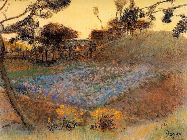 field of flax 1892
