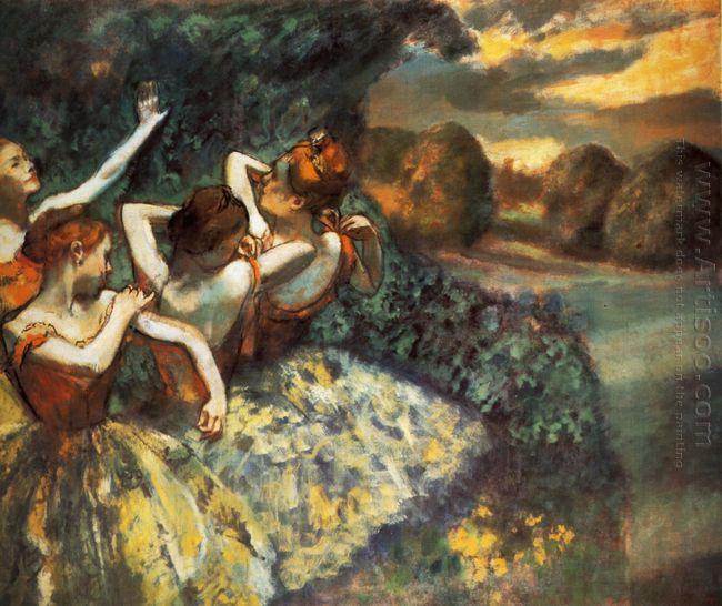 four dancers 1900
