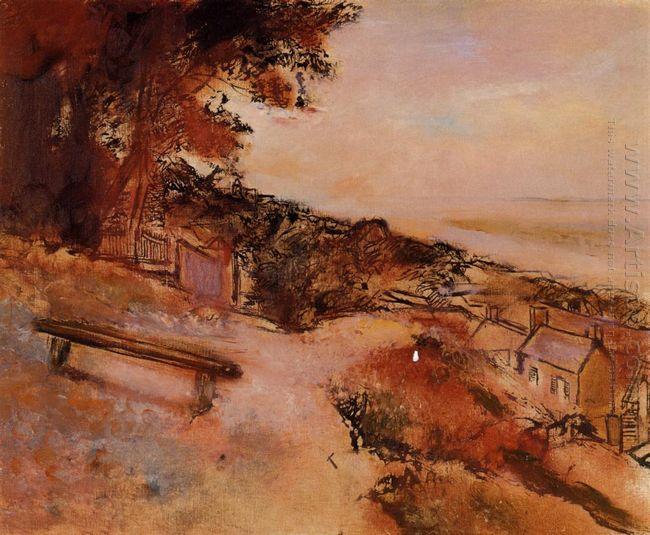 landscape at valery sur somme 1