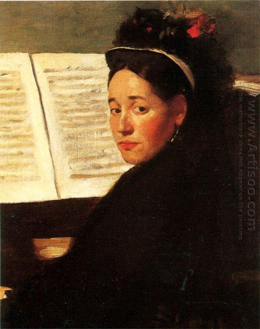 mademoiselle didau at the piano 1872