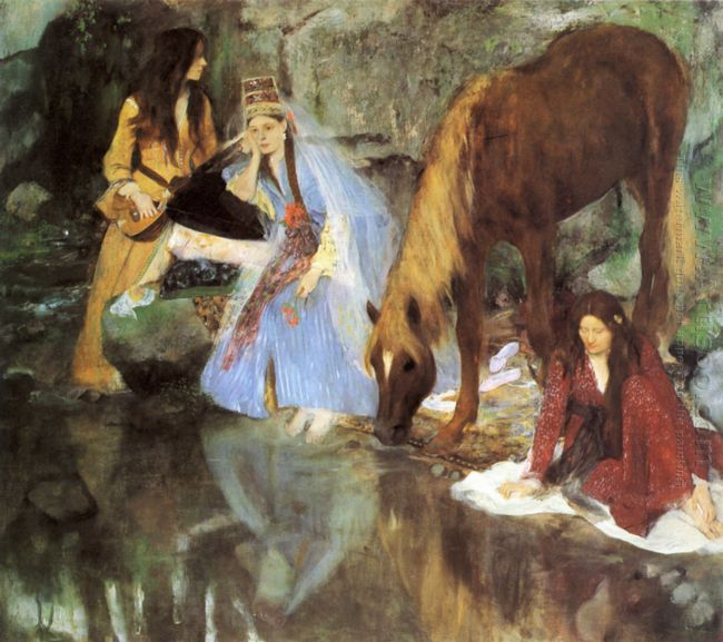 mlle fiocre in the ballet the source 1868