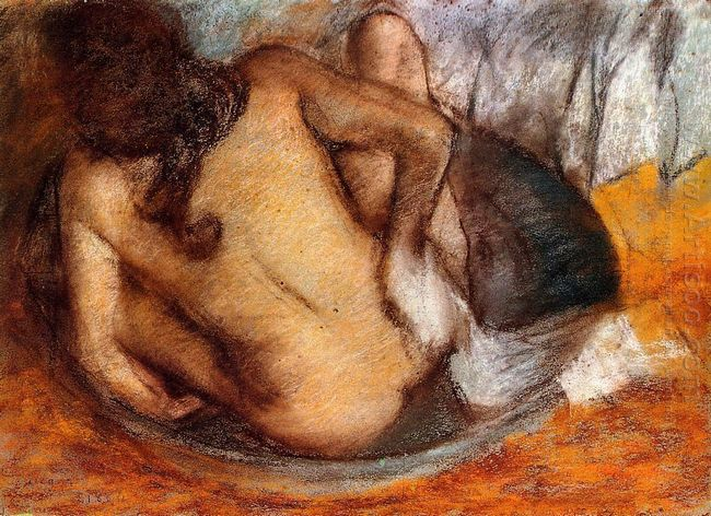 nude in a tub 1884
