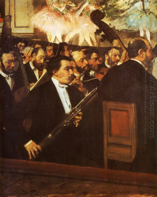 orchestra of the opera 1869