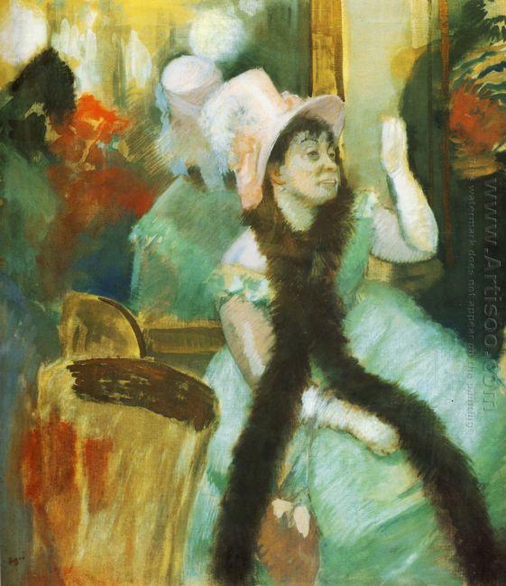 portrait after a costume ball portrait of madame dietz monnin 18