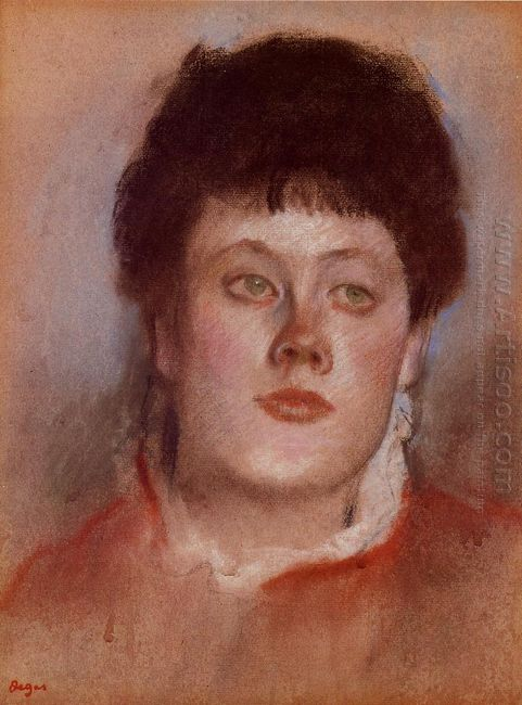 portrait of a woman 1880