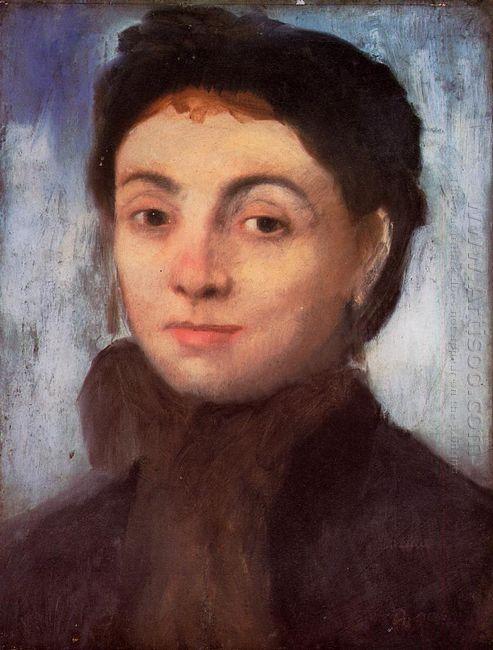 portrait of josephine gaujelin 1867