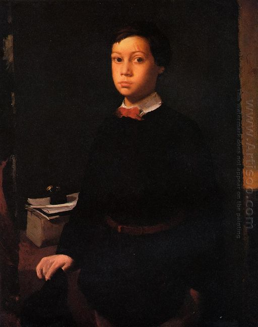 portrait of rene de gas 1855 1