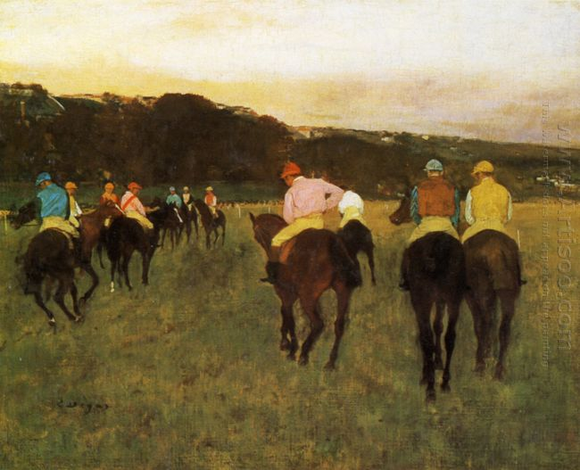 race horses at longchamp 1874