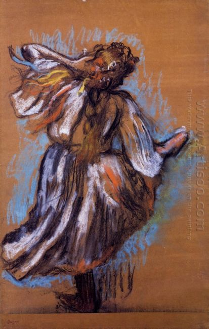 russian dancer 1895