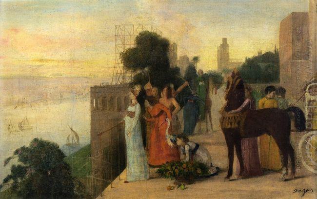 semiramis building a city 1861