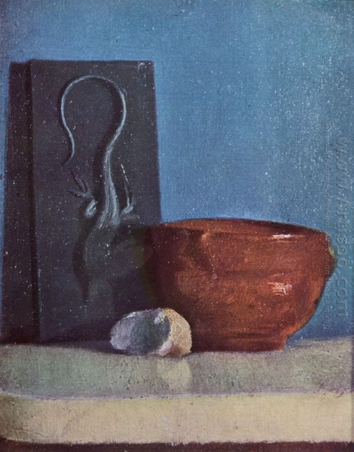still life with lizard 1860