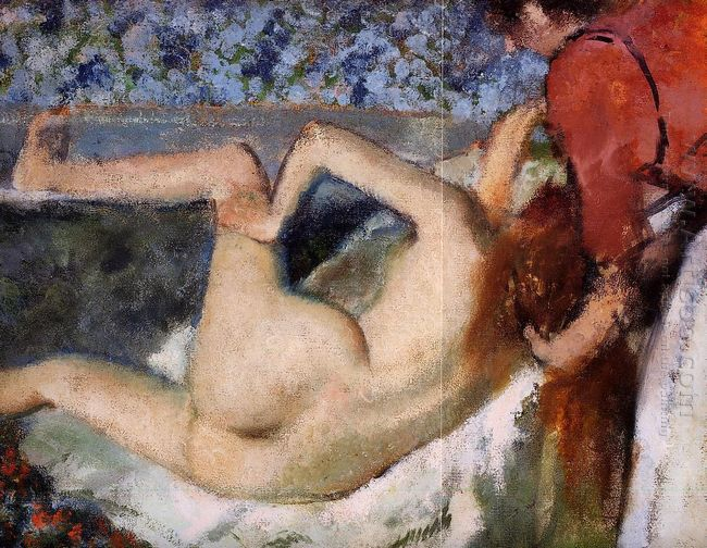the bath woman from behind 1895