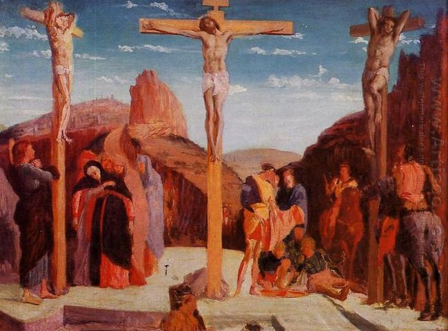 the crucifixion after mantegna 1861