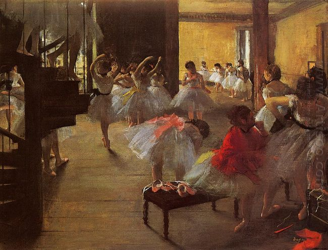 the dance class 1873