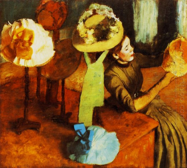 the millinery shop 1884