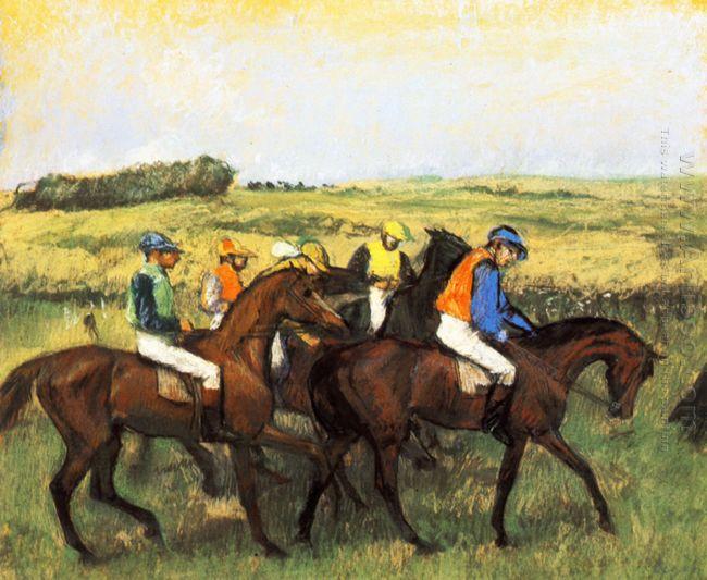 the racecourse 1885