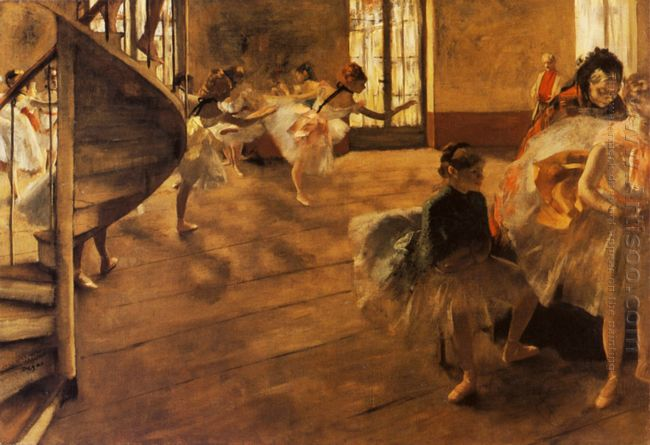 the rehearsal 1877