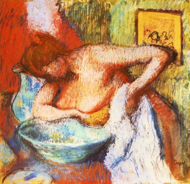 the toilette 1897