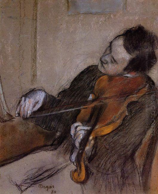 the violist 1880