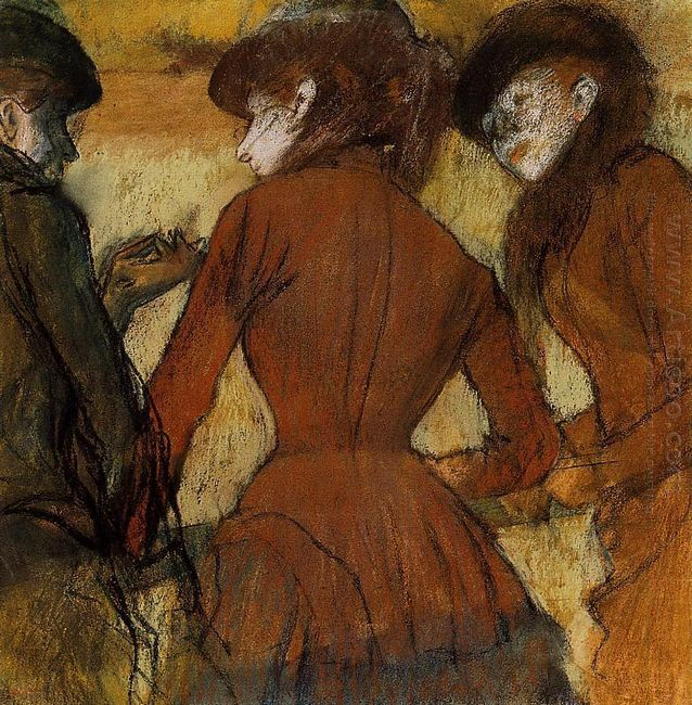 three women at the races