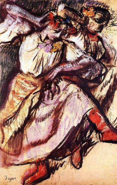 two russian dancers 1895
