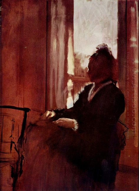 woman at a window 1872