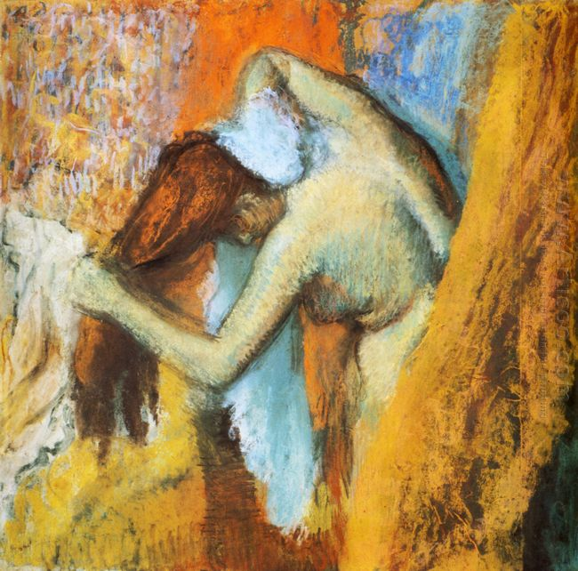 woman at her toilette 1905