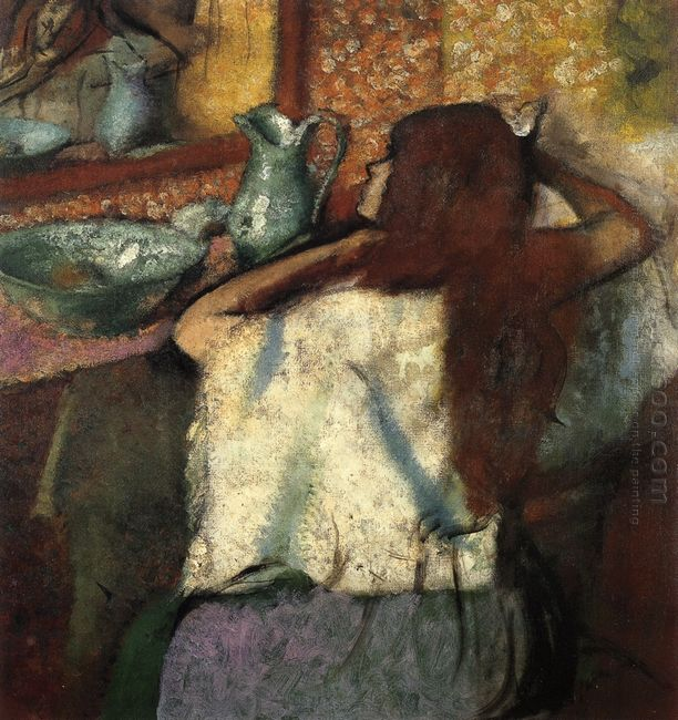 woman at her toilette 2