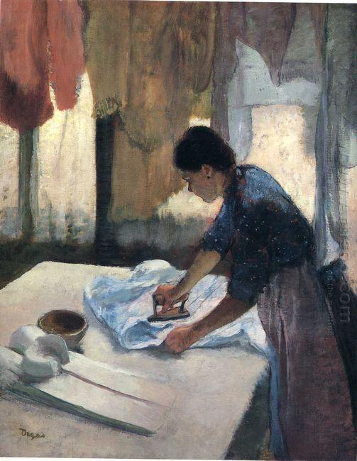woman ironing 1