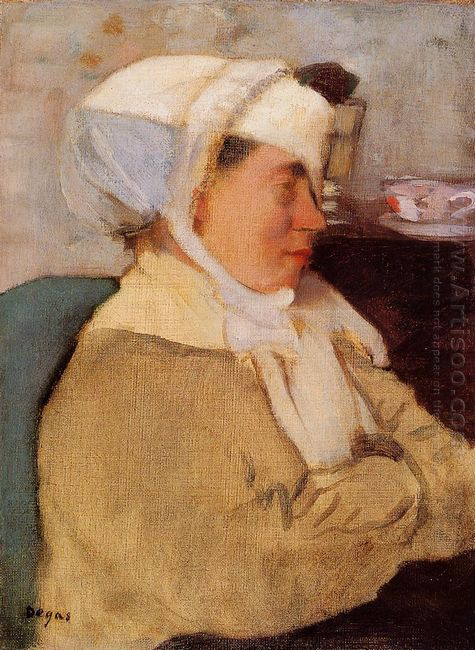 woman with a bandage 1873