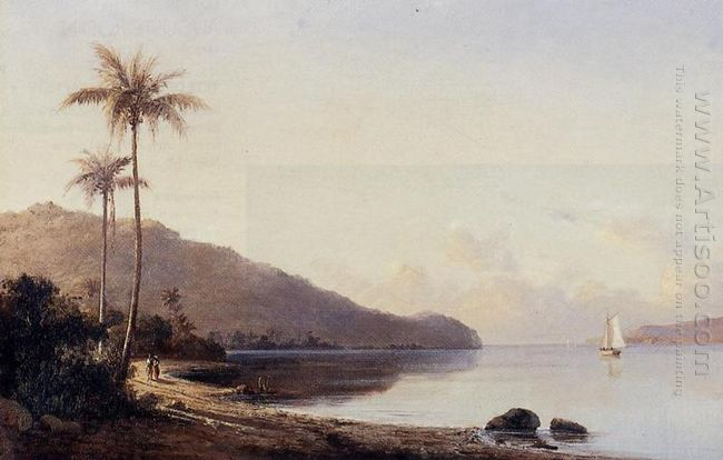 a creek in saint thomas antilles 1856