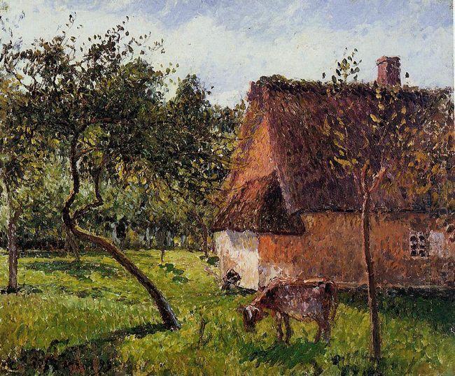 a field in varengeville 1899
