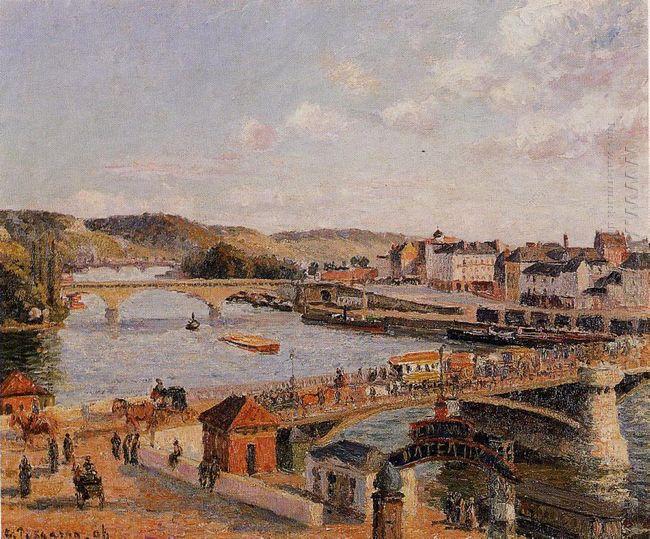 afternoon sun rouen 1896