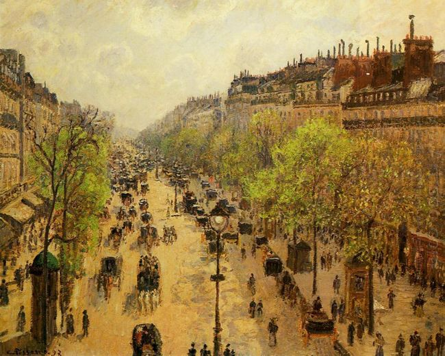 boulevard montmartre spring 1897
