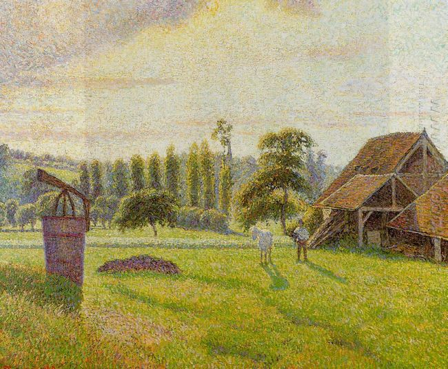 brickworks at eragny 1888
