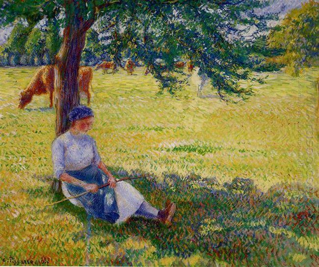 cowgirl eragny 1887