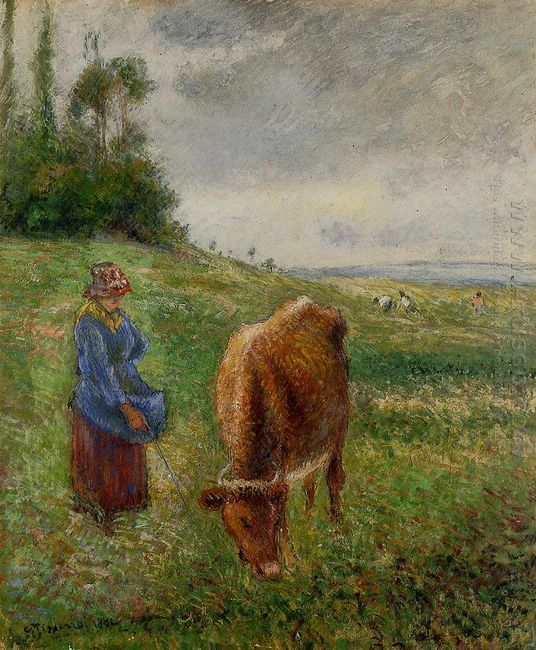 cowherd pontoise 1882