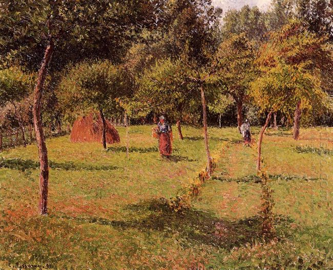 enclosed field at eragny 1896